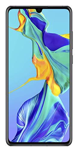 Huawei P30 – Smartphone de 6.1″ (Kirin 980 Octa-Core de 2.6GHz, RAM de 6 GB, Memoria interna de 128 GB, cámara de 40 MP, Android) Color Negro [Versión importada]
