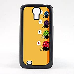 Case Fun Case Fun Love Bug? Snap-on Hard Back Case Cover for Samsun Galaxy S4 Mini (I9190)