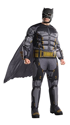 Rubie's Costume Co. Men's Tactical Batman Adult Deluxe Costume, As Shown, (Harley From Batman Costumes)