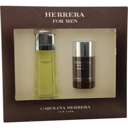 Carolina Herrera 3.4 Edt - CAROLINA HERRERA by Carolina Herrera 3.4 oz EDT Spray 2 Piece Gift Set for Men