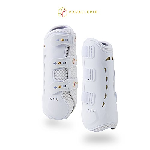Kavallerie PRO-K 3D Air-Mesh Dressage Boots - Breathable, Lightweight, Impact Absorbing, Sports Boots for Training, Jumping, Riding, Eventing - Maximum Support and Protection - - Dressage Boots Horse