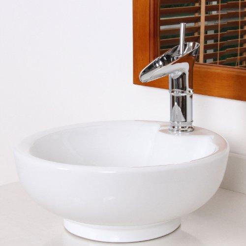 ELITE Luxury Bathroom Chrome Finish Single Lever Faucet for Sink,Vanity 8807C by ELITE (Image #3)