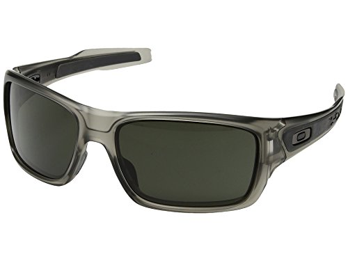 Oakley  Men's Turbine Matte Grey Ink With Dark Grey One - Sunglasses Website Oakley