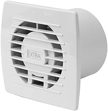 Baño Ventilador Diámetro 120 mm silencioso ventilador de pared ...