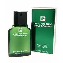Paco Rabanne Pour Homme 1.7 oz Eau de Toilette Spray for men by Paco Rabanne