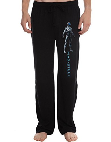 RBST Men's max steel suit front Running Workout Sweatpants Pants M Black