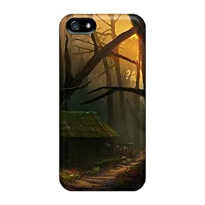 GoldenArea Black Forest Feeling Iphone 5/5s On Your Style Birthday Gift Cover Case