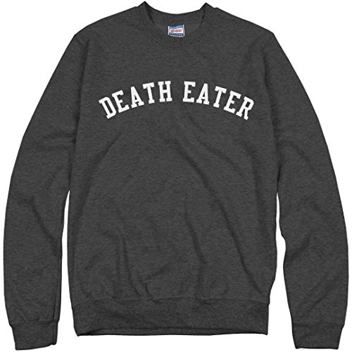 Customized Girl Black Death Eater: Unisex Ultimate Crewneck Sweatshirt -