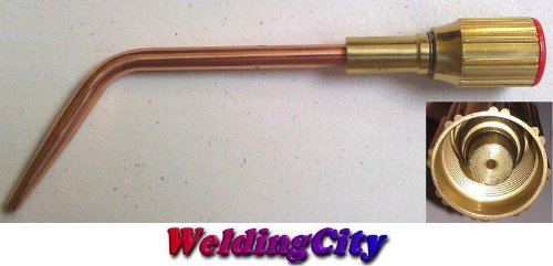 WeldingCity Acetylene Welding Tip 23A90#0 23A90-0 Size 0 for Harris Oxyfuel Torch