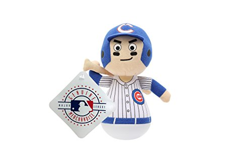 MLB Rock'emz Collectible Sports Figurine - 7 in. Tall (Chicago Cubs) ()