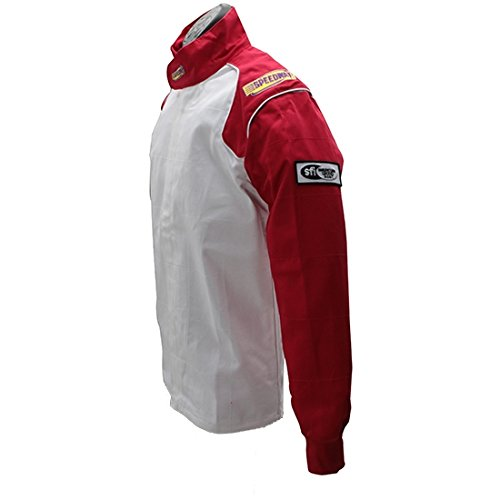 Blue Racing Jacket Only, SFI-1, Small by Speedway Motors (Image #5)