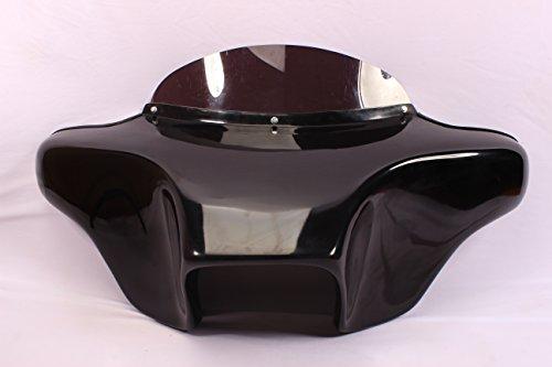 (USA F14 GC +F20 Batwing Fairing Windshield 4 Yamaha ROADSTAR Road Star 1600 1700 XV 99-09 Fiberglass 4X5 Speaker Holes)