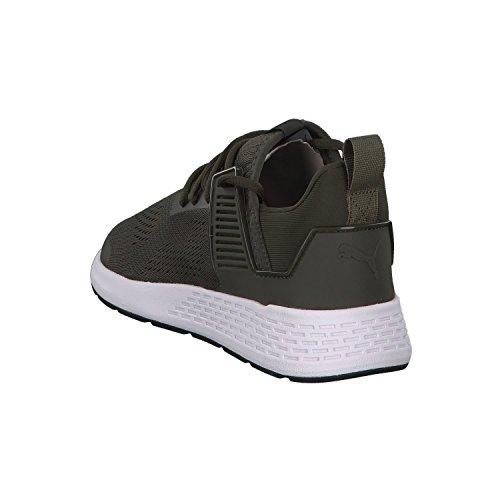 Herren PUMA 46 Herren Sneaker oliv PUMA Sneaker w0Bq4R