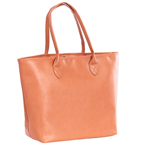J&J Leather tote shoulder bags handbags for Ladies Women Mommy for Work Large Capacity on Sale