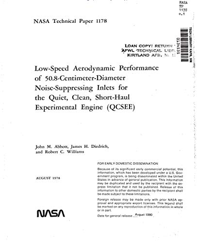 Low-speed aerodynamic performance of 50.8-centimeter-diameter noise-suppressing inlets for the Quiet, Clean, Short-haul Experimental Engine (QCSEE). [Lewis 9- by 15-foot low speed wind tunnel tests]