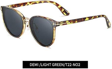 ZJIEJ Lunettes de Soleil Design Women Eye Sunglasses Female Retro Style Polarized Glasses Shades Uv400