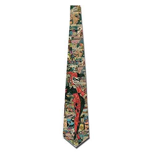 HAAUT The Joker Mens Custome Skinny Ties (Joker Customes)