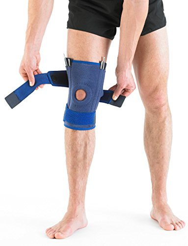 Neo G Knee Brace, Stabilized Open Patella - Support For Arthritis, Joint Pain, Meniscus Tear, ACL, Running, Basketball, Skiing – Adjustable Compression – Class 1 Medical Device – One Size – Blue by Neo-G (Image #7)