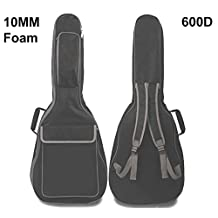 "Bison Prosound Acoustic Classical Guitar Carrying case, Gig Bag, Guitar Bag, 10mm Paddding Bag, Max. 41"" full size guitar"