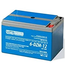 6-DZM-12 12V 12Ah Deep Cycle Sealed Lead Acid Battery for Scooters & eBikes
