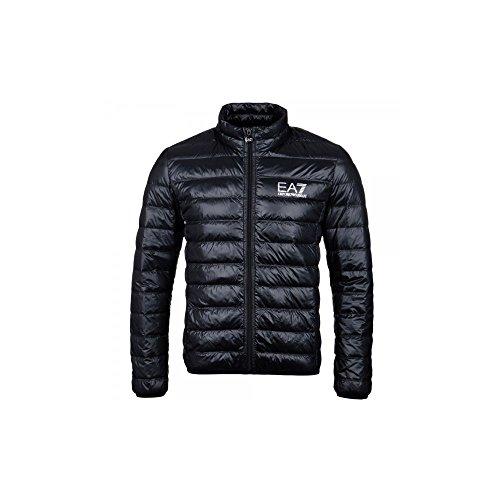 Emporio Armani EA7 Ultra-Light Down Black Jacket XL Black