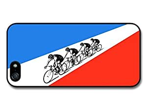 AMAF ? Accessories The Tour de France Bicycle Race Sport French Flag Retro case for iphone 5c