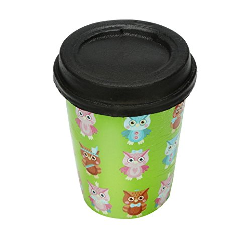 MakeupstoreSlow Rising Decompression Toy,1Cent Item Adorable Cartoon Owl Cups Charm Slow Rising Soft Squishy Animals Stress Relief Toys Decompression Squishy Squeeze Stress toy (Doll Owl Kachina)