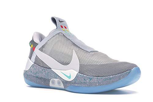 Nike Adapt Bb Mag' - Ao2582-002 - Size 11.5 Wolf Grey, White]()