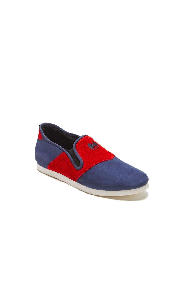 Nénufar Indoor Footwear Indigo Carmin - Unisex - 7,5 - Blue