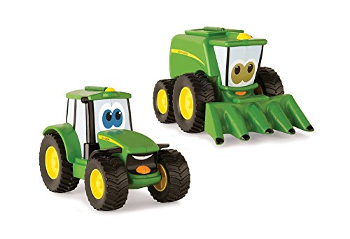 Johnny Tractor or Corey Combine Toy (Johnny Tractor Toy Book)