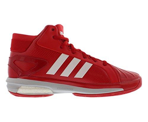 Adidas Sm Futurestar Boost Scarpe Da Basket Da Uomo Scarlatto / Bianco / Argento Metallizzato