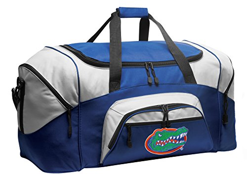 Large Florida Gators Duffel Bag Large University of Florida Gym Bag Luggage by Broad Bay