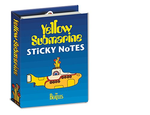 Yellow Submarine Sticky Notes Booklet - By The Unemployed Philosophers Guild