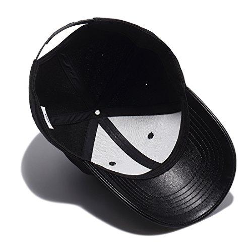 Gorro Unisex para Deportes WUKE Hop de Béisbol Color Negro Hip Sombrero Viajes wqaqpt