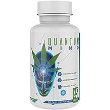 Rock Solid Nutrition Quantum Mind Clarity, Energy, Focus, and Memory Enhancing Nootropic and Smart Drug Brain Supplement, Designed to Enhance Marijuana, 45 Capsules