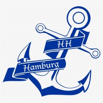 Sudadera con capucha de mujer HH Hamburg Anker by Shirtcity Blanco