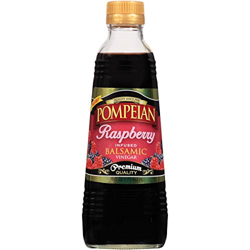Pompeian Raspberry Infused Balsamic Vinegar,  16 Ounce