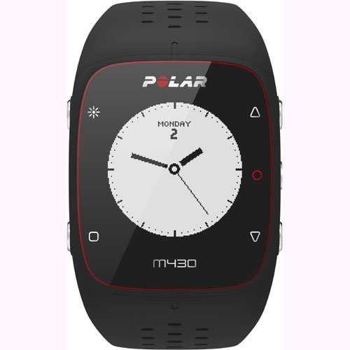 Polar M430 Wrist-Based Heart Rate GPS Running Watch Black with Cinch Bag by Polar (Image #2)