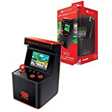 My Arcade Retro Arcade Machine X Playable Mini Arcade: 300 Retro Style Games Built In, 5.75 Inch Tall, AA Battery Powered,  2.5 Inch Color Display, Illuminated Buttons, Speaker, Volume Control