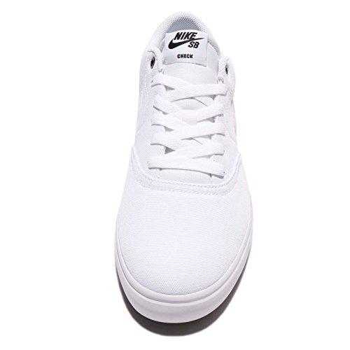 Bianco Uomo Sb Cnvs Nike Da 001 black Check Solar Skateboard white Scarpe 0On8n