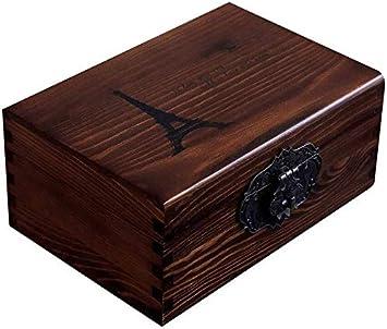 LACC Las urnas for Las Cenizas Humano Adulto, Madera cremación urnas de Madera for la Caja funeraria Urna del entierro urnas for Cenizas Columbario S for Cenizas humanas Grande 0226 (Size : Style a)