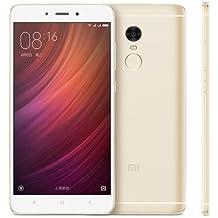 "GOLD Xiaomi Redmi Note 4, Global Version, Dual SIM Standby, Unlocked 3GB RAM 32GB ROM, Supports B4 1700 LTE, Snapdragon 625 Octa Core CPU, 5.5"" 1080p Display 13MP"