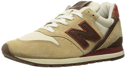 Ny Balanse Menns 996 Varige Spesiallaget Usa Mote Sneaker Tan
