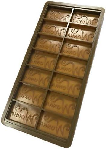 WILLY WONKA DIY Chocolate Factory Bar Casting Mold