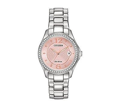 Citizen Women's Swarovski Crystal Stainless Steel Watch