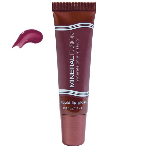 Mineral Fusion Brands naturelles Lip Gloss liquides, Sensible, 0,37 once