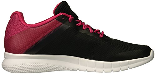 Run Instalite Reebok Women Pink Black Overtly White w1qTEqF5rx