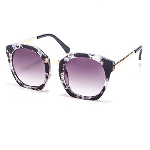 d9f950a534 TIME100-la série de Smileyes Lunettes de soleil femme rétro monture de  lunette et multicolore ...