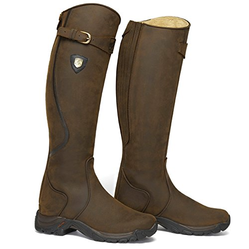 Wide RIVER MOUNTAIN Unisex braun Reitstiefel SNOWY HORSE Winter rOq04qw6z