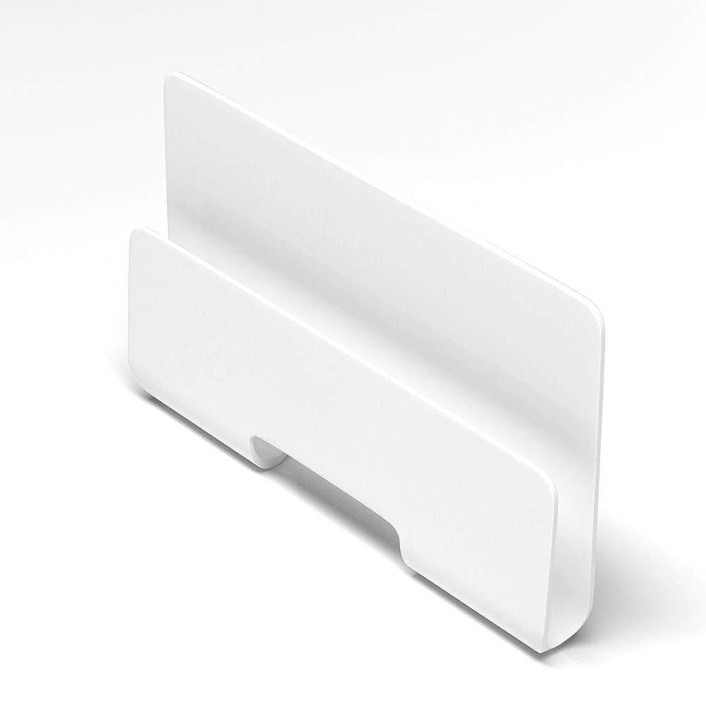 NAttnJf Scaffale di Ricarica per Supporto Staffa per Supporto a Muro per Montaggio a Muro Bianca